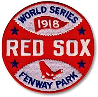 Baseball 1918 RED SOX World Series Championship Patch Limited Edition Champions