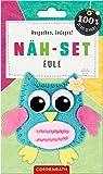 Näh-Set: Filzanhänger Eule (100% selbst gemacht)