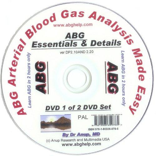ABG Blood Gas DVD - Essentials of ABG DVD DP1.10 (UK Edition) PAL