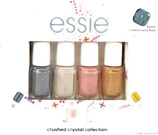 Essie Crushed Crystal Collection Nail Polish 4 Pack 5ml. Each Color