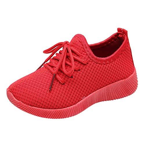 Baskets Enfants Unisexe Garçons Chaussures Respirant Route en Cours Filles Légère Sneakers Running Shoes Chaussures de Sport
