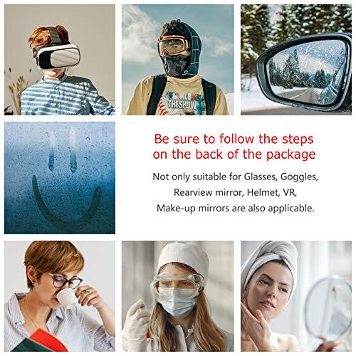515NtkTN6QL - Eyeglasses Anti-Fog Cleaning Cloths, Screens, Lens Wipe for All Electronic Device Screens(5 Packs Anti-Fog Wipe)