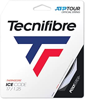 Tecnifibre ICE Code 17G (1.25mm) Tennis String 12m Set - White