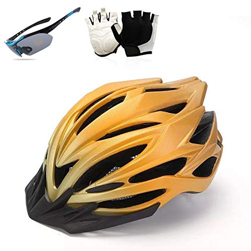 HVW Casco de Bicicleta para Adultos, Casco de Bicicleta de Ciclo con...