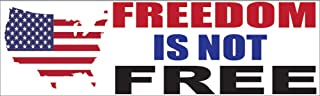Best freedom is not free sticker Reviews