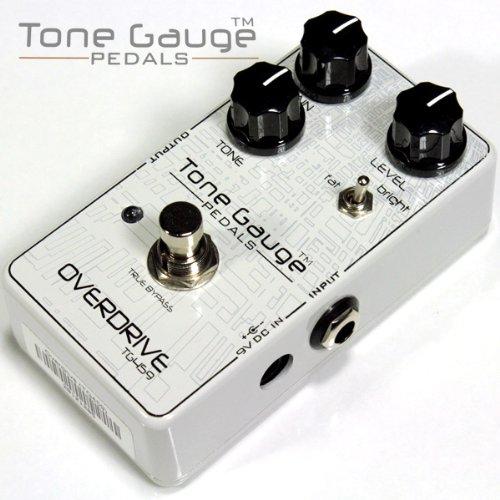 Tone Gauge Pedals TG459 OVERDRIVE 王道のチューブドライブを彷彿とさせる高品質オーバードライブ