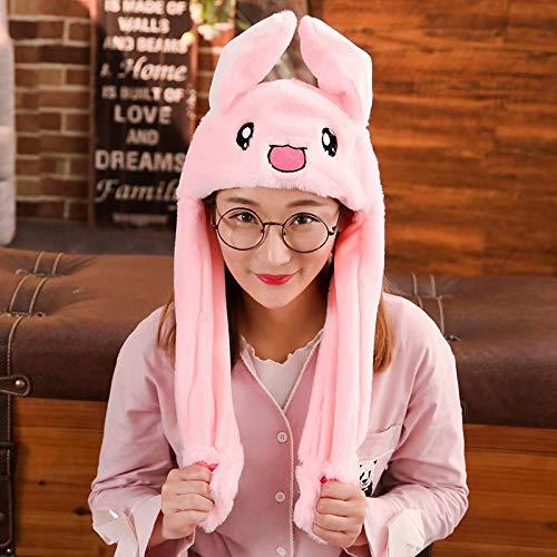 Gaocheng Oreja de Sombrero de Conejo en Movimiento Unisex Halloween Fiesta presione la albndiga para Levantar Las Orejas Cumplea?os Animal Accesorio de Disfraz Sombrero de Conejo Navidad Sombreros