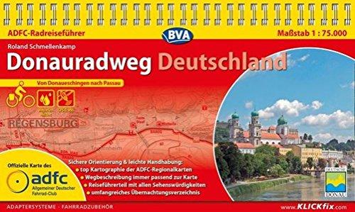 ADFC-Radreiseführer Donauradweg Deutschland 1:75.000 praktische Spiralbindung, reiß- und wetterfest, GPS-Tracks Download: Von Donaueschingen nach Passau