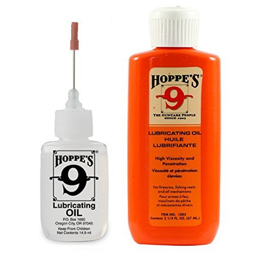 Lowest Price! Hoppe's Oil Combo Pack - No. 9 Precision Bundled with 2-1/4 oz Refill