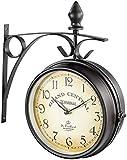 St. Leonhard Nostálgico Reloj de la estación: Reloj de estación de Doble Cara con diseño Retro (Nostalgia Reloj de la estación)