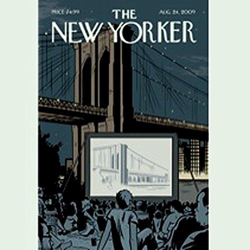 The New Yorker, August 24, 2009 (Alec Wilkinson, David Sedaris, Tad Friend) audiobook cover art