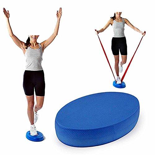 LUNAH Ovale Balance Pads, Yoga Foam Board Balance Pad Stabilitätstrainer Pad Gym Fitness Übung Kissen für Balance & Rumpfstärkung, Sport Balance Trainer