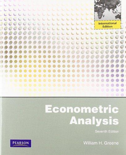 Econometric Analysis: International Editionの詳細を見る