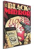 Instabuy Poster Black Mirror Vintage 12 - A3 (42x30 cm)