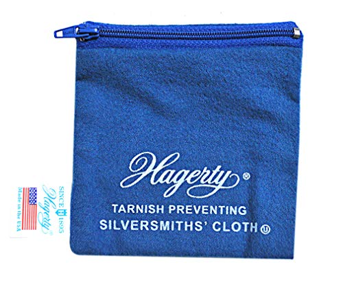 Hagerty 4' by 4' Silver And Gold Anti-Tarnish Zippered Jewelry Keeper