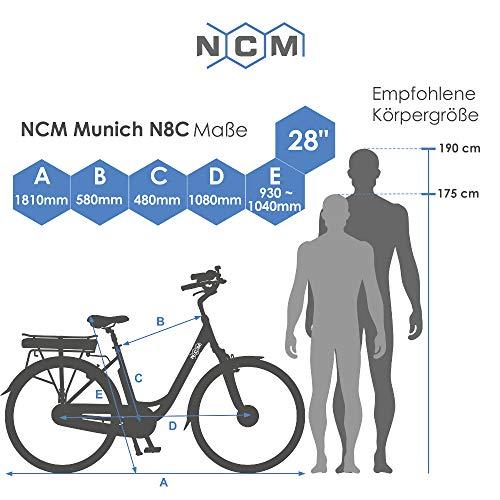 NCM Munich Tiefeinsteiger Trekking City E-Bike kaufen  Bild 1*