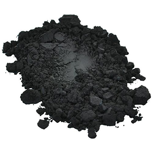 Black Iron Oxide Luxury Colorant Pigment Powder Cosmetic Grade Including Eyes for Soap Candle Nail Polish 4 oz