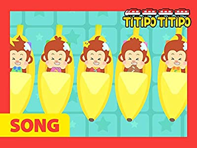 Titipo's Kids Songs Collection - Five Little Monkeys