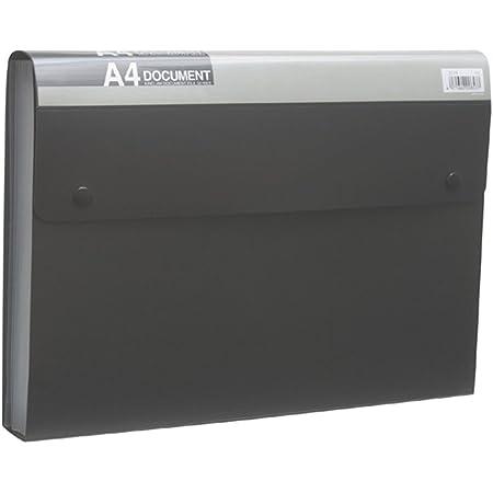 キングジム ドキュメントファイル エコノミータイプ A4 2274 黒