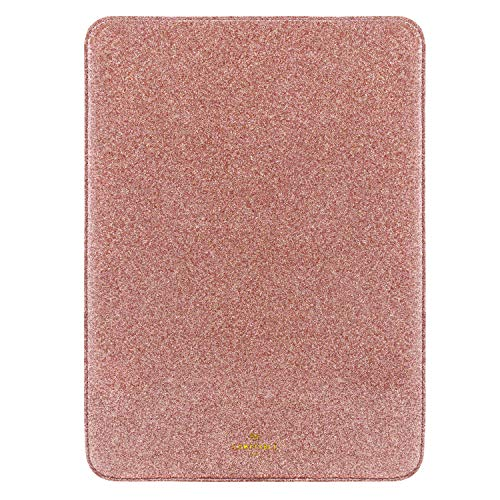 Comfyable Slim Laptop Sleeve 13-13.3 Inch Compatible for 13 Inch MacBook Pro & MacBook Air, Protective Computer Cover 13in Case for Mac, Pink Rose Gold Glitter