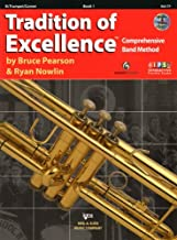 Tradition of Excellence, Book 1 (Bb Trumpet/Cornet) by Bruce Pearson (15-Dec-2010) Paperback