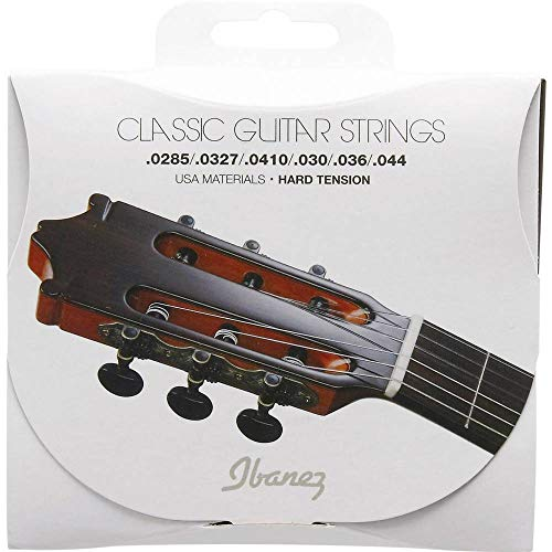 Ibanez ICLS6HT Hard Tension Clear Nylon/Silver Plated Wound .0285-.044 snaren voor concertgitaar
