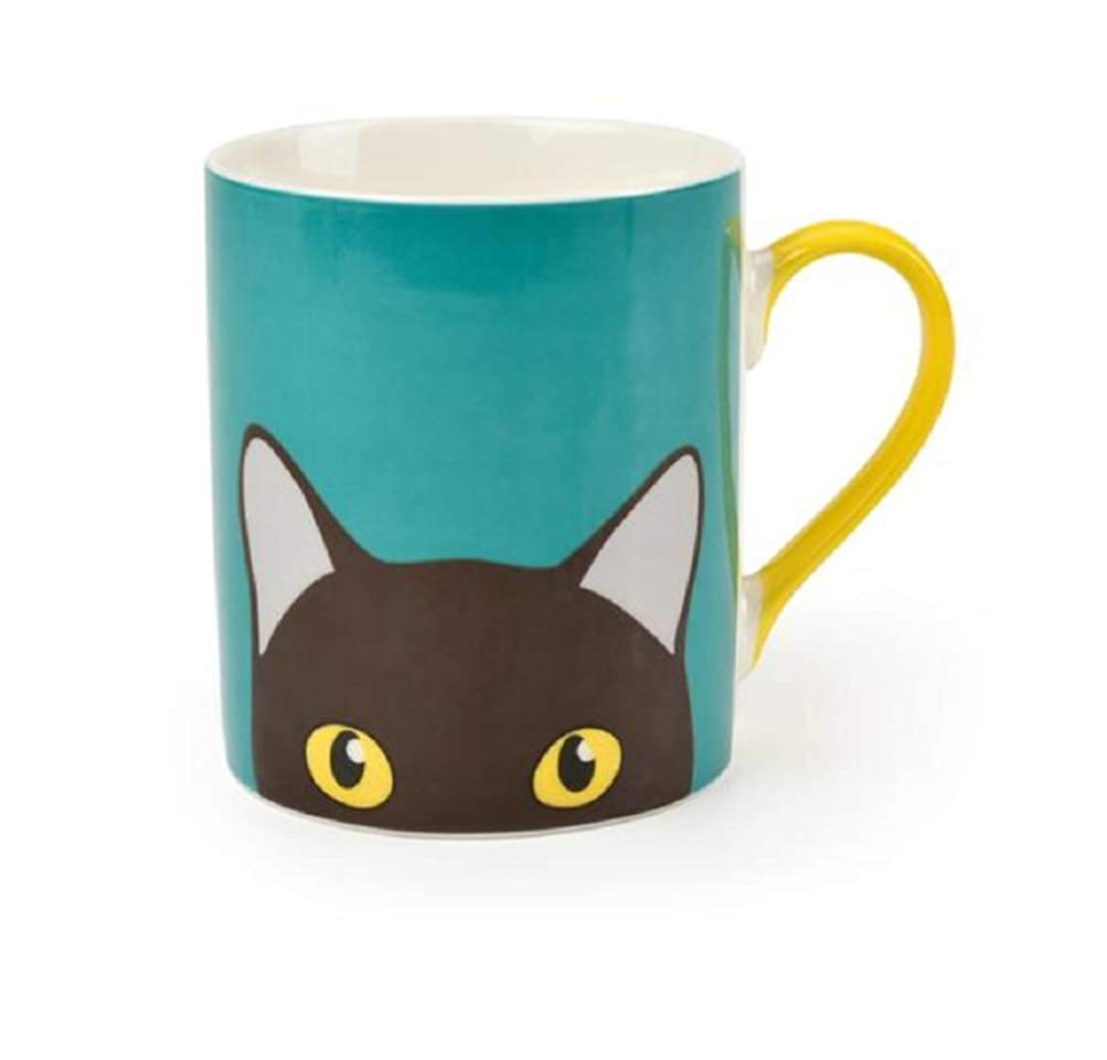 パスクリークボールBurgon and Ball Creaturewares Doris Cat Mug Cup