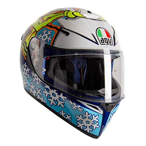 AGV K3 SV-S Winter Test 2016 Vollgesichts-Motorradhelm Grose L