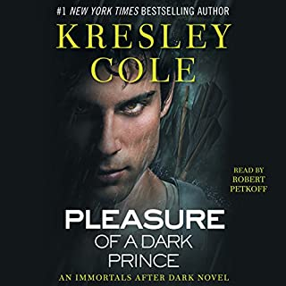 Pleasure of a Dark Prince: Immortals After Dark, Book 9                   Written by:                                                                                                                                 Kresley Cole                               Narrated by:                                                                                                                                 Robert Petkoff                      Length: 12 hrs and 12 mins     14 ratings     Overall 4.8