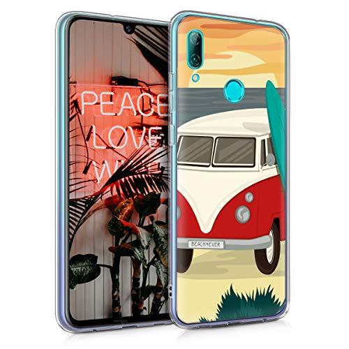 kwmobile Funda Compatible con Huawei P Smart (2019) - Carcasa de TPU...