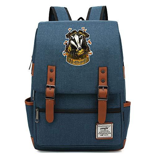 Teenager Outdoor Travel University Backpack, Slytherin Harry P Rucksack, Fits Laptop Tablet, Boy/Girl Weekend Bag 14 inch. Color-18.