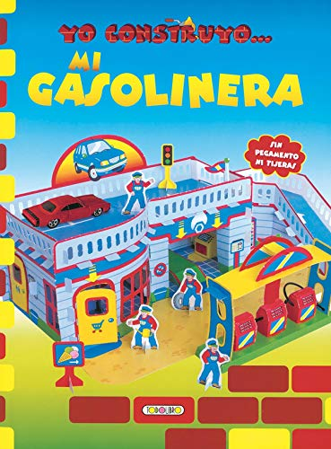 Mi gasolinera, yo construyo... (Construcciones de papel)