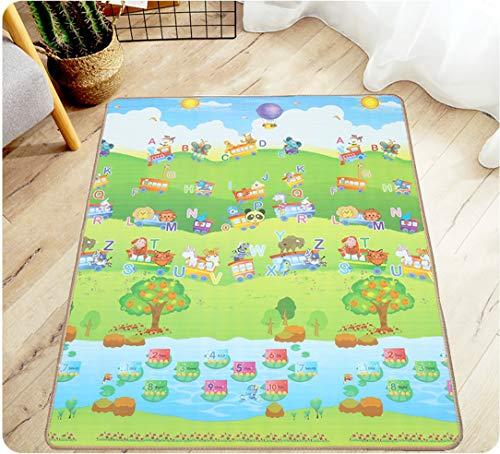 ZYEZIEinseitige Doppelseitige Klettermatten Für Kinder Krabbelmatten Outdoor-Schaummatten Matten Picknickmatten