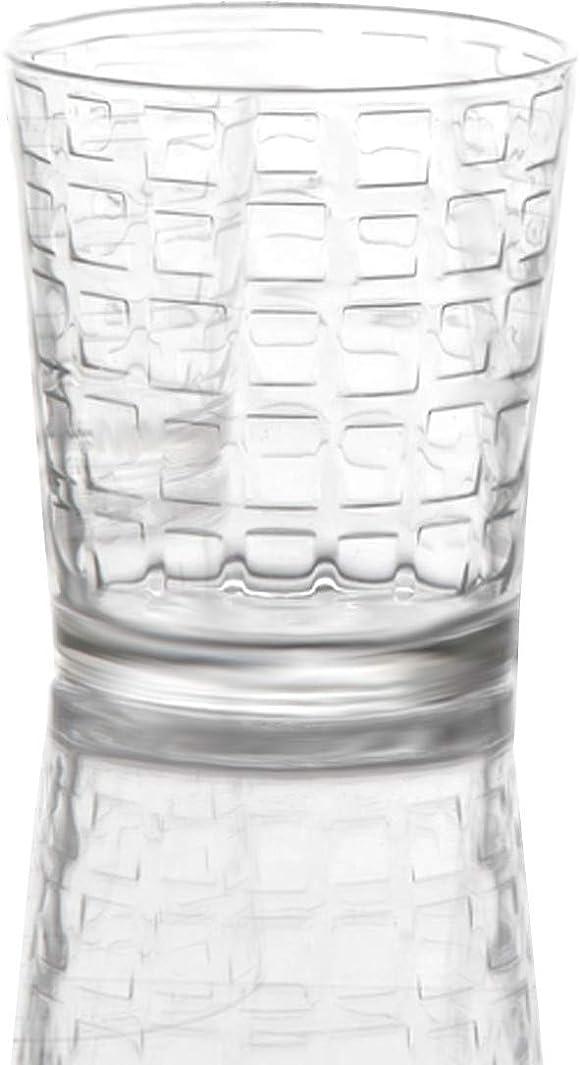 Circleware 40201 Blocks Set of Heavy Base Drinking Whiskey Glass Glassware Cups for Vodka, Brandy, Scotch, Bourbon & Best Selling Liquor Beverage Dining Decor Gifts, 12.5 oz (12.5 oz DOF - 8 Piece)