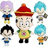 5 Unids / Set Anime Dragon Ball Son Goku Vegeta IV Torankusu Son Gohan Muñeco De Peluche Coleccionab...