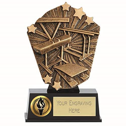 Cosmos - Mini Premio de Gimnasia con Grabado Personalizado, 4 7/8 Inch (12.5cm)