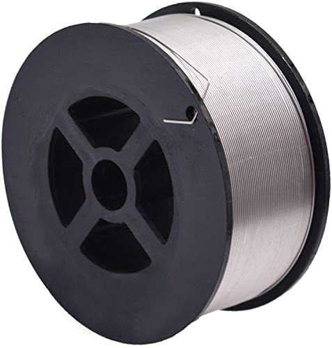 """ER308L Stainless Steel MIG Welding Wire 2-Lb Spool for MIG Welding Process for 304 304L 308 308L 321 and 347 Stainless Steels (1-pack 0.030"""")"""