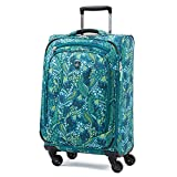 Atlantic Luggage Atlantic Ultra Lite Softsides Carry-on Exp. Spinner, lulu green