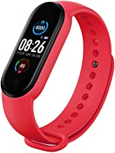 UIEMMY slim horloge Smart Horloge Mannen Vrouwen Hartslagmeter Bloeddruk Fitness Tracker Smartwatch Band 5 Sport Horloge v...
