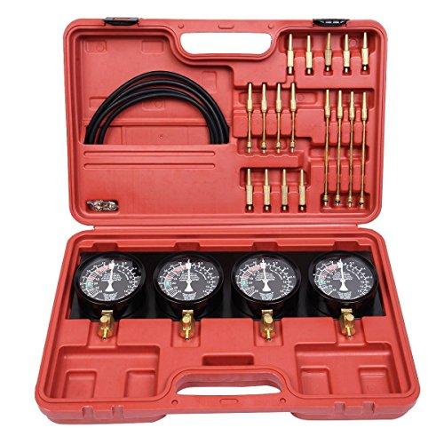 LARS360 Synchron Testgerät für Vergaser 4 Vergaseruhren Auto Synchronuhren Synchron-Tester