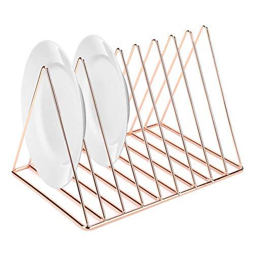 Afdruiprek, Ijzeren Schotel Droogrek Gebruiksvoorwerpen Ventilatie Opbergrek Afdruiprek Plank voor Kleine Keuken…