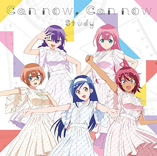 [Album]Can now, Can now – Study<古橋文乃(CV.白石晴香),緒方理珠(CV.富田美憂),武元うるか(CV.鈴代紗弓),桐須真冬(CV.Lynn),小美浪あすみ(CV.朝日奈丸佳)>[FLAC + MP3]