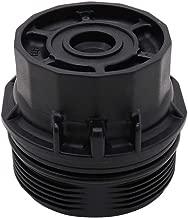 Thor-Ind Car Oil Filter Cap Assembly 15620-37010 For Toyota Corolla Prius/Prius V Matrix Lexus CT200h Scion iM XD (Oil Filter Housing Cap Replacement 19185631, 917-039, 1.8L Engines)