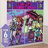 amscan Scene Setters Wall Decorating Kit | Monster High Collection | Party Accessory | 12 Kits
