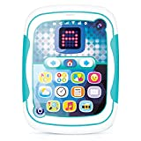 Learning Tablet with LED Screen – Toddler Tablet with 14 Touch Buttons - Educational Tablets for Preschool – Includes ABCs, Numbers, Music, Shapes, Time, Weather and More – 18+ Months – ASTM Certified