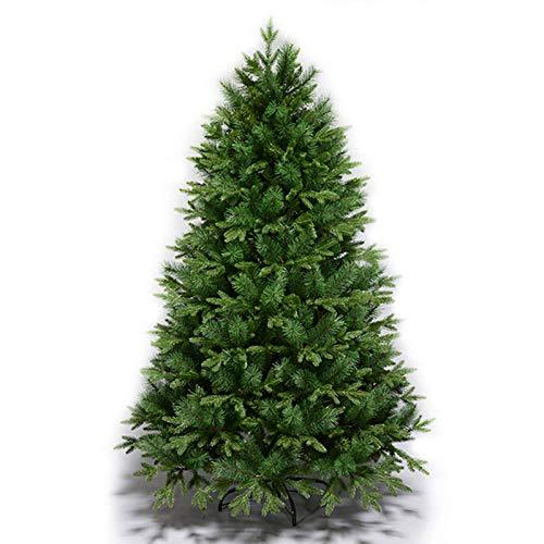 Árbol de Navidad con cifrado de 180 cm (6 pies), árbol de...