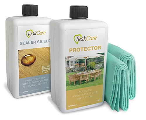 Jati Teak Care Products (Teak Protector and Sealer Shield Combo Pack)