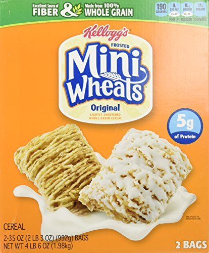 Kelloggs Frosted Whole Grain Mini Wheats 70Ounce