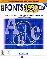 KEY FONTS 1990 Mac