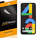 (6 Pack) Supershieldz Designed for Google Pixel 4a [Not Fit for Pixel 4a 5G] Screen Protector, High Definition Clear Shield (PET)